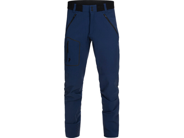 Peak Performance M's Light Softshell Pants Thermal Blue